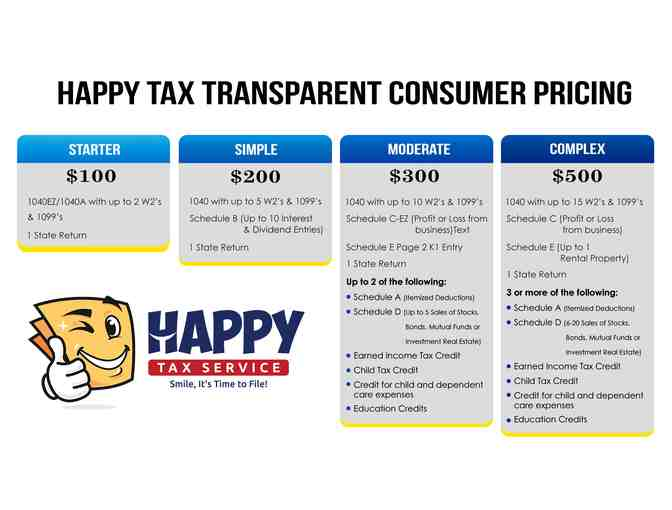 $200 Off Happy Tax