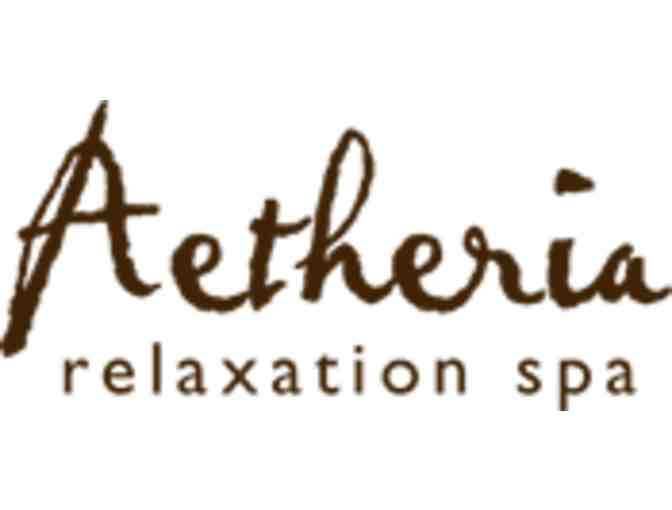 $100 gift certificate to Aetheria Spa