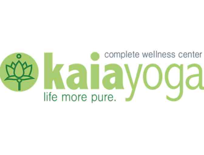Unlimited Yoga for a month at Kaia