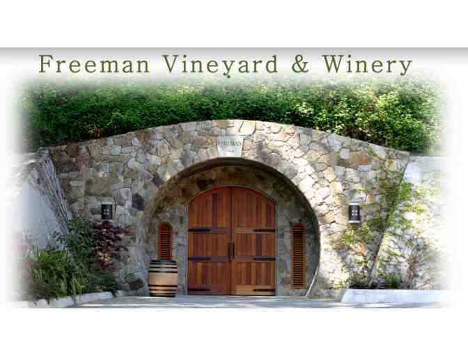 Special Wine Cave Tasting at Freeman and 2017 Pinot Noir