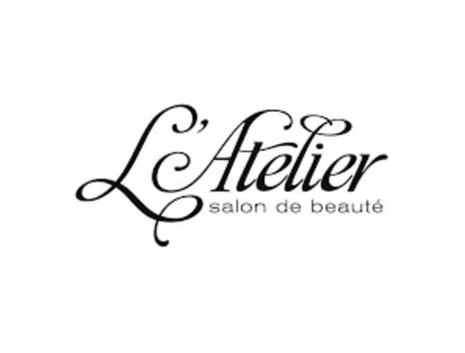 $100 gift certificate at L'Atelier Salon - Photo 1