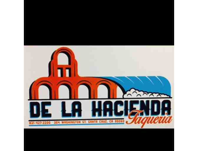 $25 gift card to De La Hacienda Taqueria - Photo 1