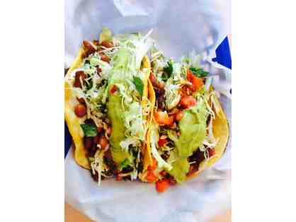 $40 gift certificate to Tacos Moreno