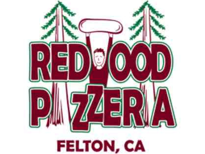 $50 in gift certificates to Redwood Pizzeria