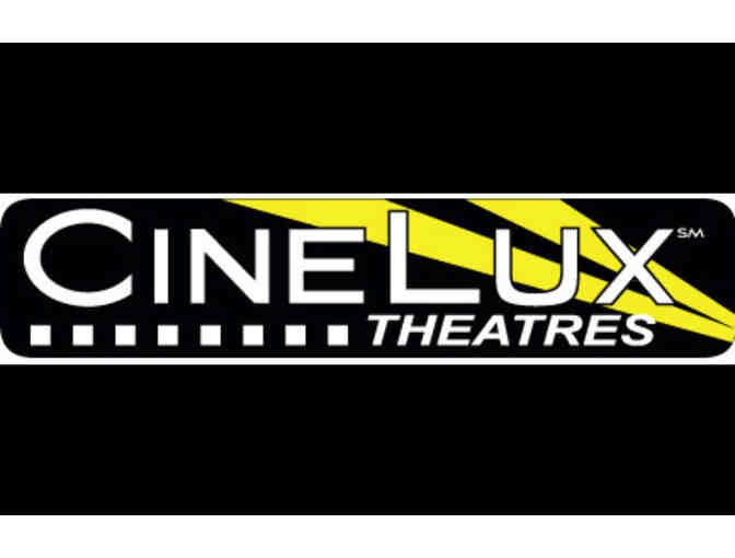 4 tickets to Cinelux Theatres - Photo 1