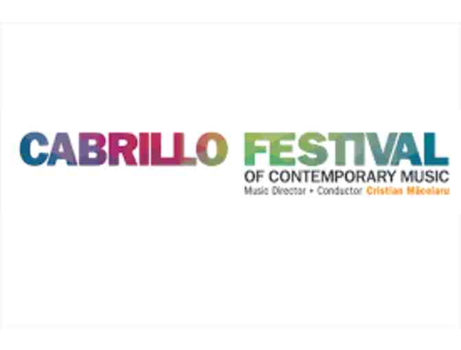 2 tickets to the Cabrillo Festival of Contemporary Music - Photo 1