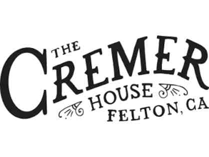 $50 Gift Certificate to The Cremer House