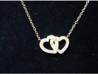 Gold & Diamond Heart Necklace by Charles Turi Jewelry, New York