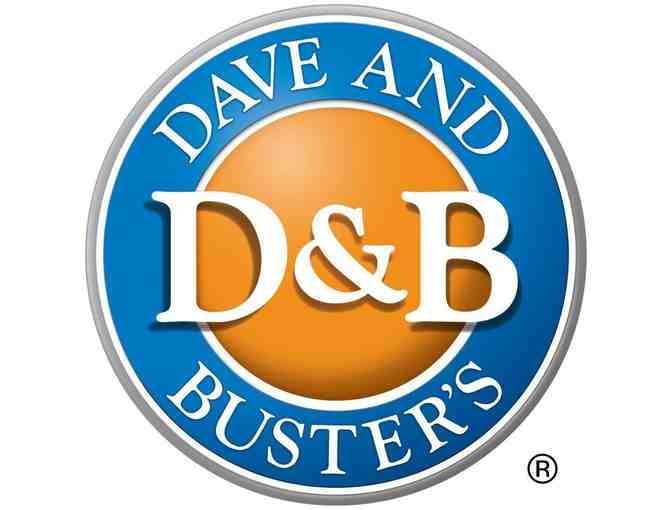 $20 Dave & Buster's Rechargeable Power Card