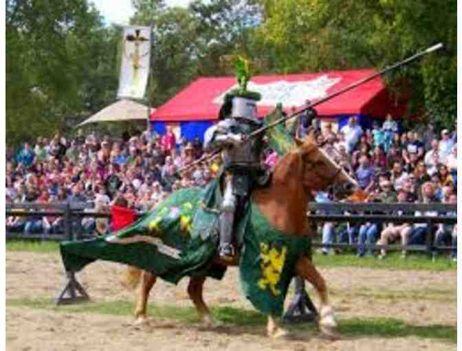Family 4-pack of tickets to 2018 Michigan Renaissance Festival