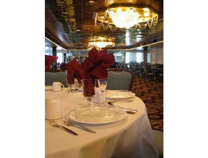 $50 gift certificate to the Detroit Princess Riverboat