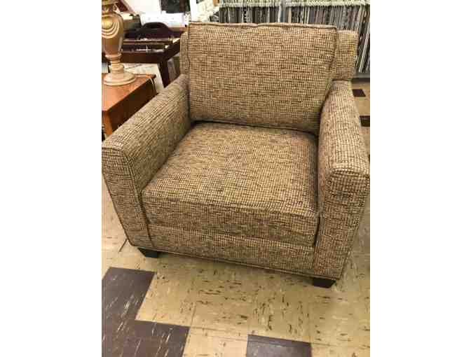 Cozy Stuffed Chair by King Hickory