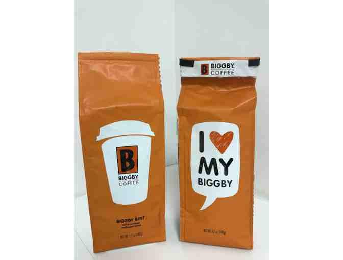 Two 12-ounce bags of Biggby Coffee