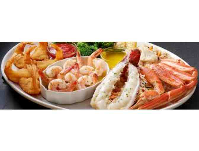 $10 Red Lobster Gift Card & 10 Free Kid's Meal Coupons