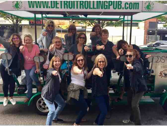 Ride for Up to 15 People on the Detroit Rolling Pub