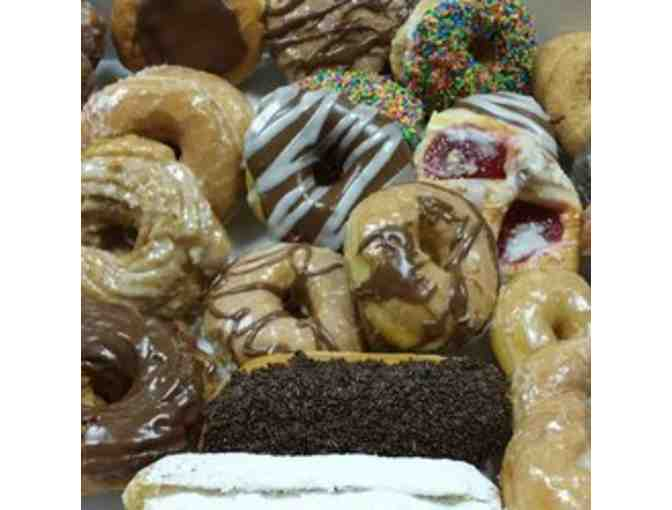 5 certificates for a dozen donuts each from The Looney Baker of Livonia, MI