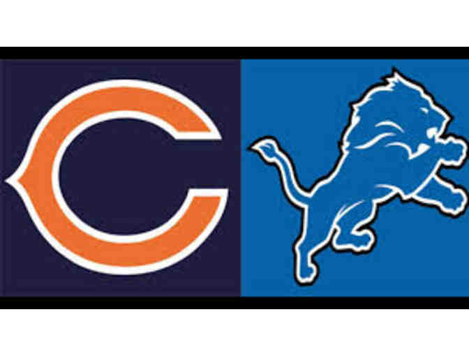 2 Lions Football Tickets - Lions vs. Bears