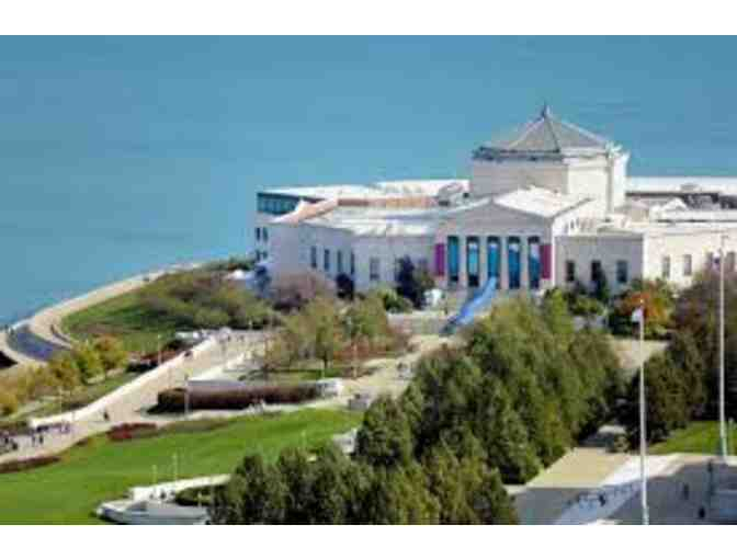 Certificate for 4 Admission Tickets to Shedd Aquarium in Chicago