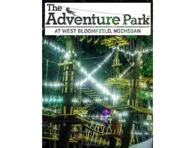 2 Vouchers to The Adventure Park in West Bloomfield, MI