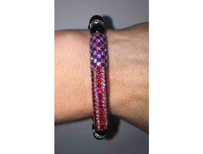 Crystal Flag bracelet