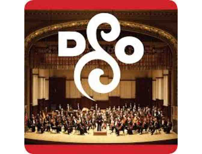 2 Complimentary Tickets to an upcoming Detroit Symphony Orchestra concert