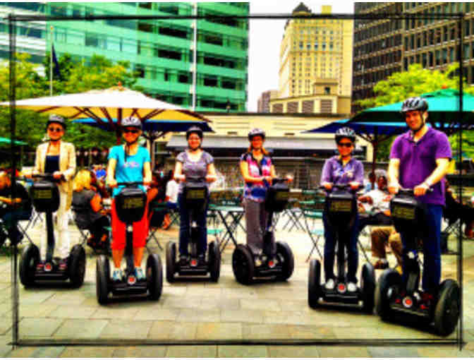 2 Detroit Segway certificates for Lower Downtown tour