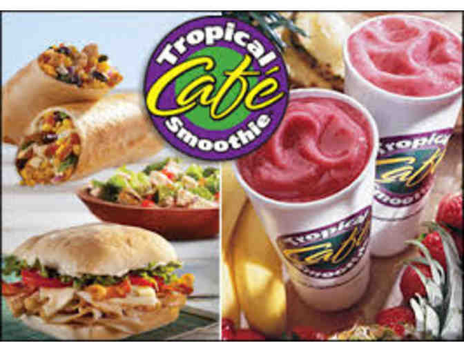 Tropical Smoothie Cafe $50 Gift Card