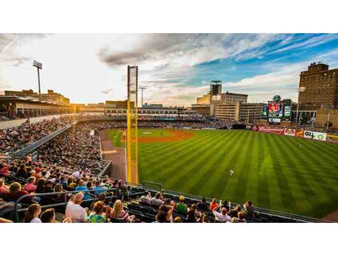 Certificate for 4 Tickets to Toledo Mud Hens Game in 2018