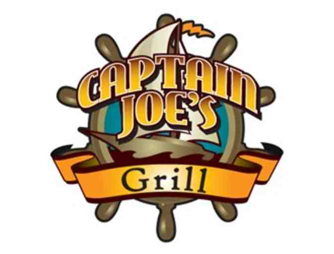 $25 Gift Card to Captain Joe's Grill in Whitmore Lake, MI