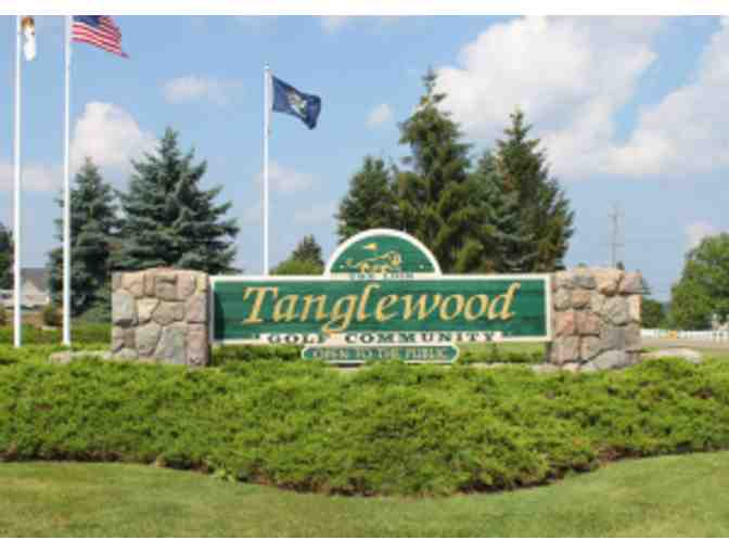Twosome for 18 Holes of Golf with Cart at Tanglewood Golf Course