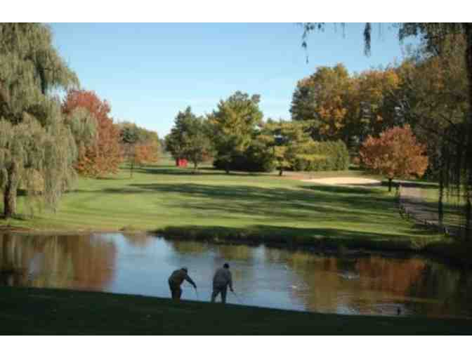 Four 9-Hole Rounds of Golf & 2 Carts at any Livonia Golf Course