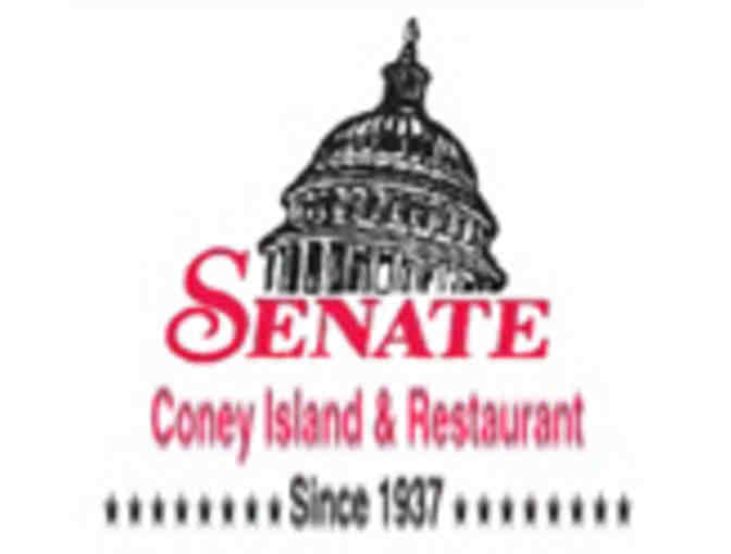 $20 Gift Certificate to Senate Coney Island & Restaurant