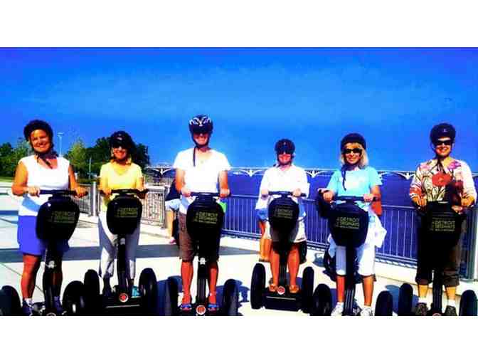2 Detroit Segways gift certificates for Riverfront East Tour