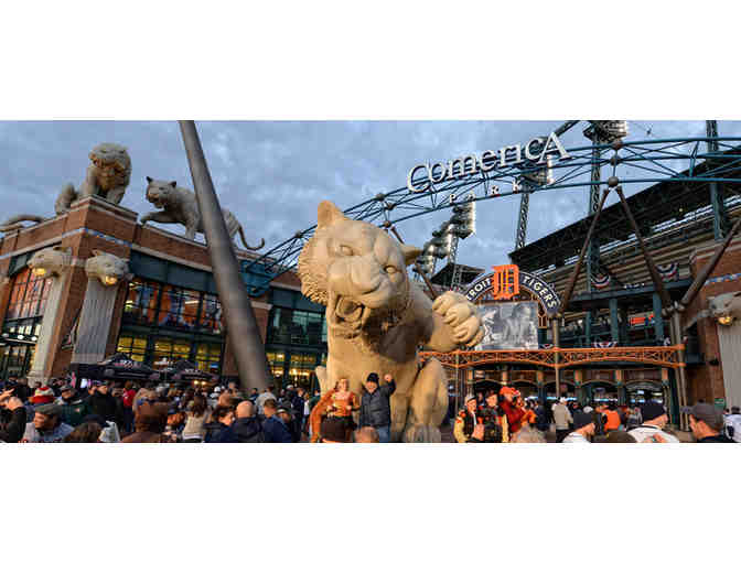 2 Tickets to the May 4 Tigers vs. Kansas City Royals Game at Comerica Park