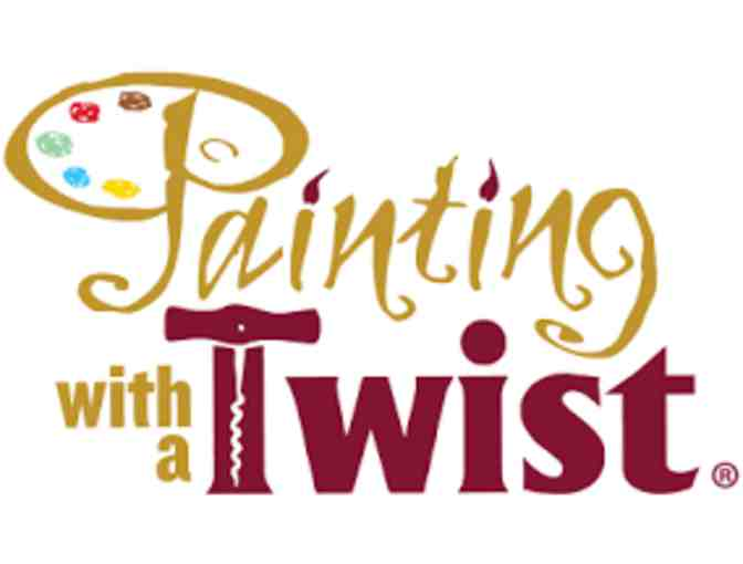 $35 gift card for Painting with a Twist and Two Paintings