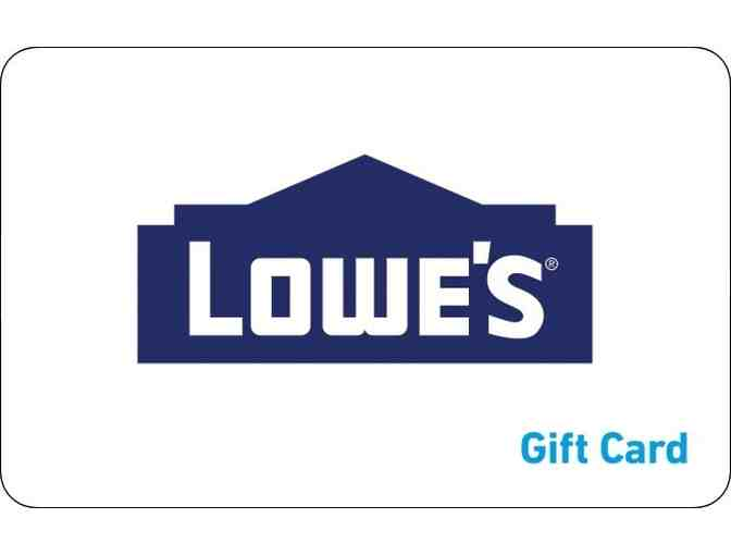 $200 Gift Card to Lowe's - Photo 1