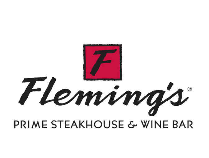 $100 Fleming's Prime Steakhouse & Wine Bar gift certificate - Photo 1