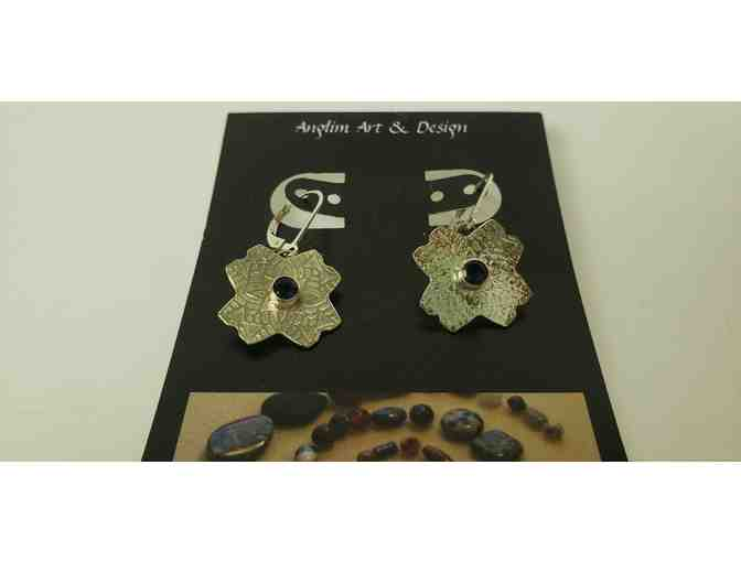 Anglim Art Iolite & Sterling Silver Earrings - Photo 1