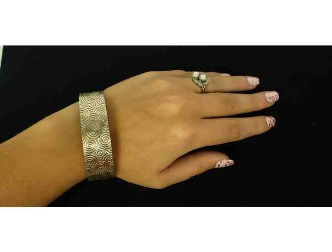 Anglim Art Sterling Silver Bracelet - Photo 2