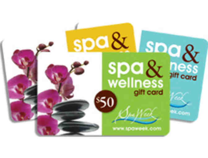 $50 Spa & Wellness Gift Card by Spa Week - Photo 1