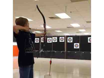 2 Hour-Long Open Range Archery Sessions With Equipment in Troy, MI