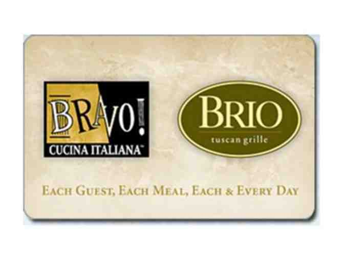2 $25 Gift Cards to BRAVO! &  BRIO - Photo 1