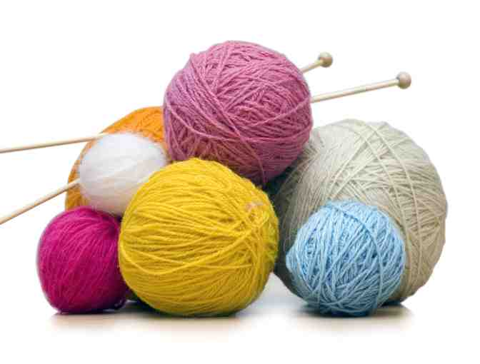 Knitting:  'Learn to Knit Experience' for (4) people