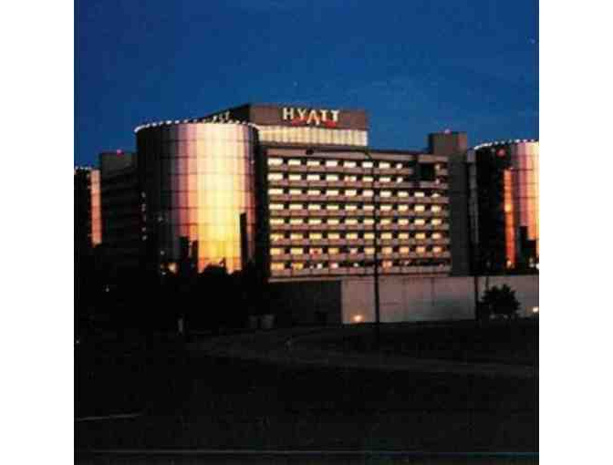 Staycation! Hyatt O'Hare and dinner at Gibson's