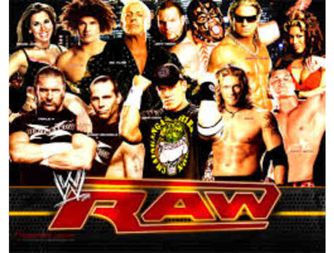 WWE - World Wrestling Entertainment (4) Tickets to Monday Night Raw