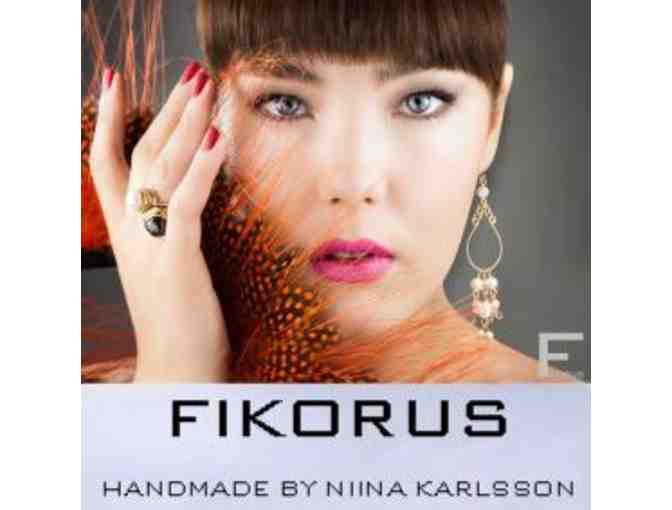 $50 for Handmade Couture Jewelry by Fikorus