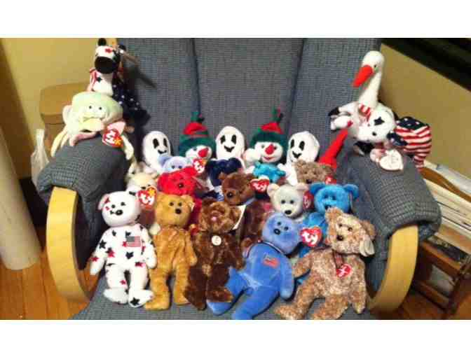 An Assortment of Collectible Beanie Babies