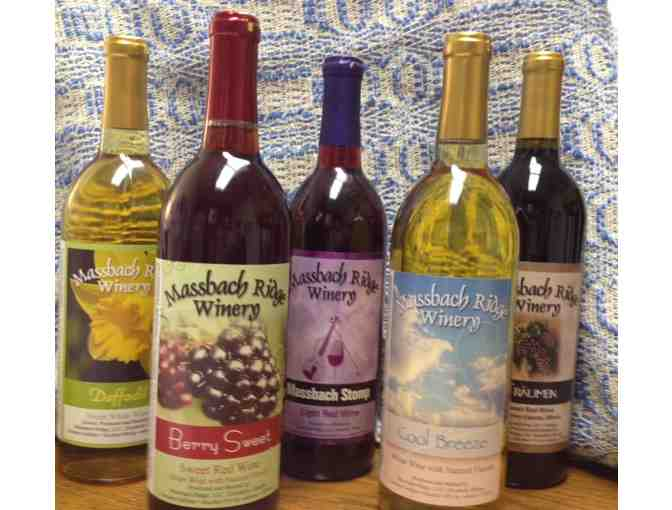 Award winning wine assortment