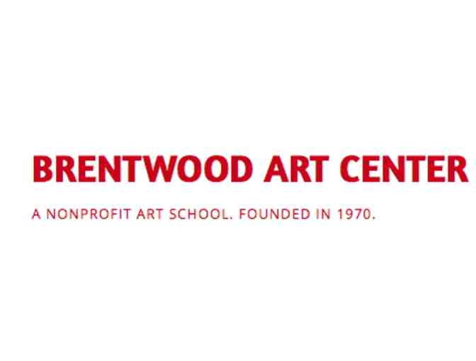 Art Classes at Brentwood Art Center