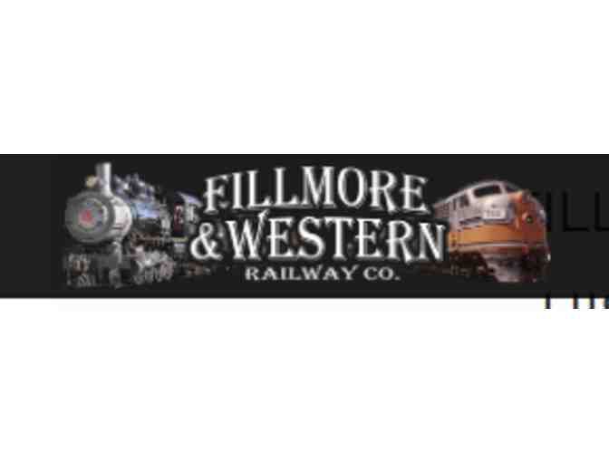 Tickets for Fillmore and Western Railway Weekend Scenic Train